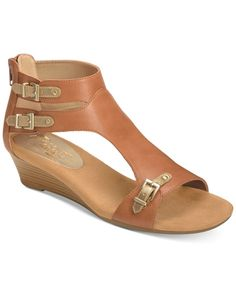 Aerosoles Yet Another T-Strap Wedge Sandals Shoes Heels Wedges, Wedge Shoes, T Bar Shoes, Fab Shoes, Leather Gladiator Sandals, T Strap Sandals, Women's Sandals, Roman Sandals, Greek Sandals