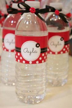 {Mickey inspired} Custom water labels