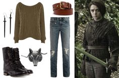 This page has a bunch of outfits inspired by the women of Game of Thrones! <3
