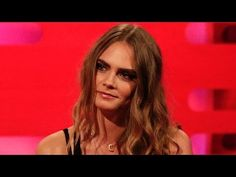 Cara Delevingne's famous eyebrows - The Graham Norton Show: Series 17 Episode 11 - BBC One - YouTube