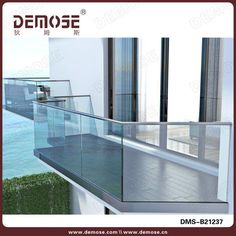 glass balustrades for decking fence glass balcony glass. Black Bedroom Furniture Sets. Home Design Ideas