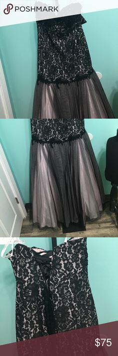 Prom dress Corseted back mermaid style. One size 20 other is a size 14 clarisse Dresses Prom
