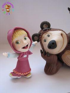 Masha and the bear - Cake by Sheila Laura Gallo