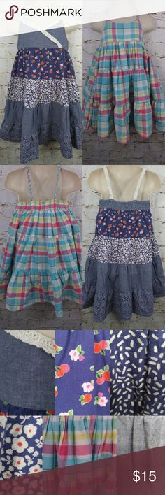 Lot Two H&M Swing Flare Dresses Summer Sundresses Lot of Two H&M Swing Flare Dresses Summer Sundress   Lot Includes:  1 x plaid flare swing dress  1 x floral flare swing dress  BRAND: H&M  CONDITION: Gently used condition. Please view all pictures for more details.   SIZE: Baby Toddler girls size 1.5 – 2 years  COLORS:  Multi-color  Colors shown in pictures may vary slightly from the actual item, due to different lighting and/or screen resolutions.   MATERIAL: Cotton  STORAGE ENVIRONMENT…