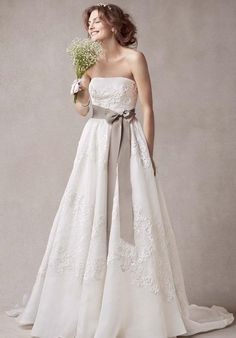 Melissa Sweet for David's Bridal MS251001 Wedding Dress - The Knot
