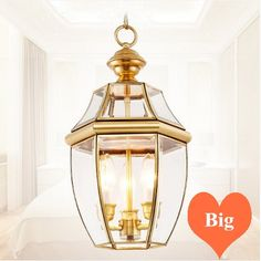 101.16$  Watch now - http://alih62.worldwells.pw/go.php?t=32757649423 - American retro copper&crystal glass Pendant lights Handwork soldering E14 LED three lamps light for cafe&porch&stairs BRSDD007