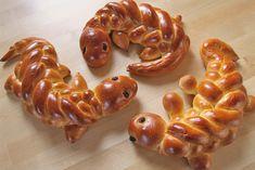 Wie man Eidechsen aus Hefeteig flechtet | Zeitlos-Brot