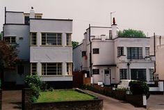 Art Deco Houses 1935-1936 at Bexleyheath, London