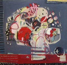 "Saatchi Art Artist Anna Hymas; Painting, ""Wild Flowers Still Life"" #art"