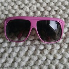 Dork Sunglasses LMFAO (as seen on)... This brand has that cool kid vibe and the kind LMFAO wears!! Check out the pics! I snagged these and the actual ones I wore on a show I hosted featuring LMFAO.. The design is Italian and hard to find! 80's party ready.. So rad... Dork Accessories Sunglasses