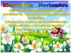 Bienvenido #Noviembre