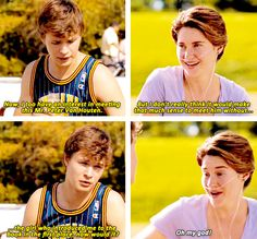 from the new the fault in our stars featurette: literature to life