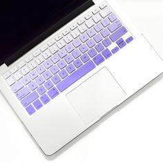 Protect your Macbook keys from dust and spills with a thin silicone keyboard cover. Laptop Keyboard Covers, Keyboard Stickers, Computer Case, Macbook Desktop, Macbook Case, Macbook Pro, Apple Laptop, Laptop Accessories, Cool Things To Buy