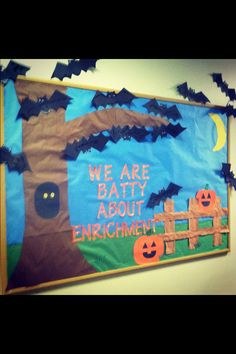 #halloween #october preschool bulletin board
