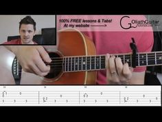 ▶ Cherry Wine - Hozier - Guitar Lesson & Tabs - YouTube