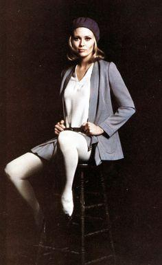 Faye Dunaway photographed by Milton Greene, 1968.