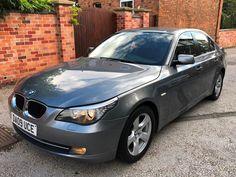 2009 BMW 520 2.0TD auto d SE, FSH, 12 MONTHS MOT & SERVICE, LEATHER, BLUETOOTH! Bmw Cars For Sale, Bmw 520, 12 Months, Bluetooth, Amp, Vehicles, Leather, Car, Vehicle