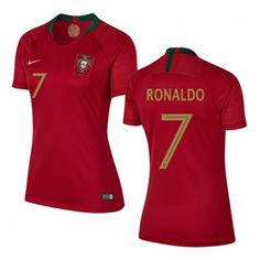 Nike Womens Portugal Ronaldo #7 World Cup 2018 Jersey (Home): https://www.soccerevolution.com/store/products/NIK_41240_A.php