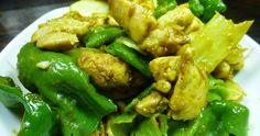 POLLO TROCEADO AL CURRY. Riquísimo económico y bien fácil de hacer ¿te vas a perder esta receta? Kung Pao Chicken, Poultry, Curry, Meat, Ethnic Recipes, Food, Game, Gourmet, Chicken Recipes