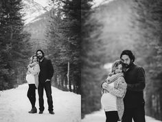 Seiji & Megan's Mountain Maternity Session by Calgary Maternity Photographers Red Bloom Photography with Artistry by Bobi Maternity Photo Outfits, Winter Maternity Photos, Maternity Portraits, Maternity Photographer, Maternity Session, Maternity Pictures, Pregnancy Photos, Winter Pregnancy, Family Portraits