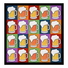 pop art & beer love is art art is love