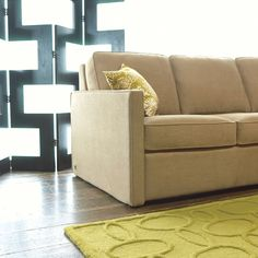 Kingsley Comfort Sleeper By American Leather Sofa Company Queen Mattress