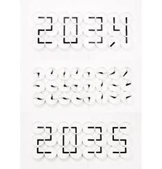 The Clock Clock White  Watch 24 analog clocks morph into one giant digital display.