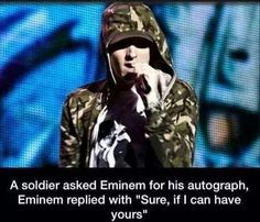 Shout out to Eminem