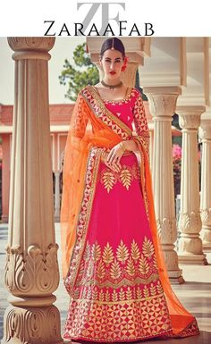 ZaraaFab an ultimate destination for those looking for variety of stone work lehenga choli. Buy online designer lehenga choli in UK for weddings, parties or any other occasions. Free shipping available Now.  #heavyembroidered #bridalwear #partywear #shaadi #lehenga #FeelRoyal #lehengacholi #buyOnlineLehenga