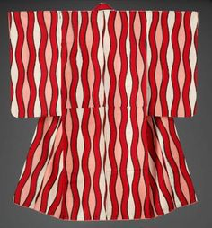 Meisen kimono from the first half the 20th century. Japan. Boston Museum of the Fine Arts.