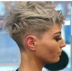 60 Cute Short Pixie Haircuts – Femininity and Practicality 60 Cute Short Pixie Haircuts – Femininity and Practicality,Hair Short Choppy Blonde Pixie Style Hairstyles Haircuts, Cool Hairstyles, Blonde Hairstyles, Hairstyle Ideas, Hairstyles Pictures, Short Womens Hairstyles, Short Shaved Hairstyles, Pixie Hairstyles For Thick Hair Undercut, Cropped Hairstyles