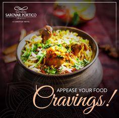 Savour the tastier and more flavourful version of Biryani at Nataraj Sarovar Portico Jhansi.  For table reservation, call  0510 233 0800.  #NatarajSarovarPorticoJhansi #FlavoursRestaurant #DelectableBiryani #BestPlaceToDine