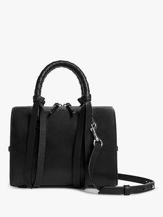 9c713a1b4f505 AllSaints Voltaire Small Bowling Bag