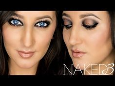 Naked 3 Tutorial   Great party look!  Pin now, watch later!