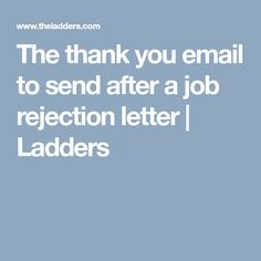 Thank You Email After Rejection Cool 28 Brilliant Questions To Ask At The End Of Every Job Interview .