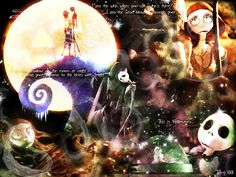 Nightmare before Xmas Wallpape by *TerryXart on deviantART