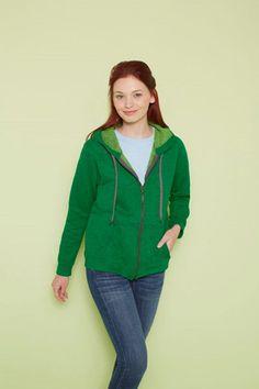 Hooded Sweater Vintage full zip Dames Capuchon vest verkrijgbaar in verschillende kleuren. Musthave! zowel voor dames als heren leverbaar