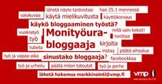 Sinustako bloggaaja? http://bit.ly/14y9nNN