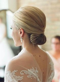 Smooth tuck, this is a beautiful bridal style