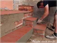 affordable como construir un banco de obra y unas escaleras how to build a bench and with hacer piscina de obra - Como Hacer Una Piscina De Obra
