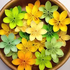 Yellow and Green Theme  100 pcs with Free by JUSTPATCHshop on Etsy