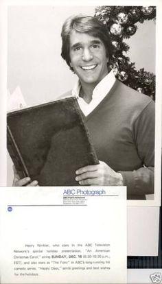 Henry Winkler A Christmas Carol Orig 1979 ABC TV