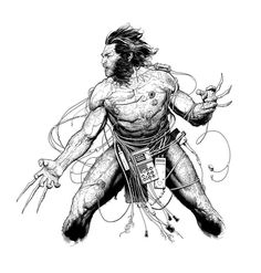 Weapon X by Travis Charest *