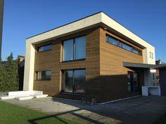 Façades SE et SO : Maisons modernes par Bureau d'Architectes Desmedt Purnelle