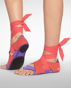 Must-Have Products for Your Workout: FOR THE DANCER: This three-part footwear system protects bare feet from slipping during yoga, dance class, and more. Nike Studio Wrap Pack, $110; nike.com