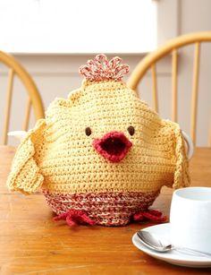 Chicken Tea Cozy - Patterns  | Yarnspirations