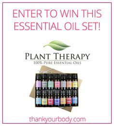 Enter to win a 14 essential oil set from Plant Therapy Essential Oils! Click here to enter!