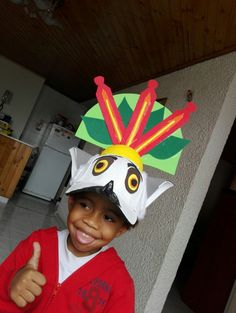 King Julien. Madagascar. Face Mask. Halloween. Costume. Preeschooler