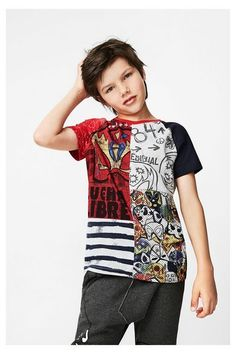 T-Shirt Manu Desigual. Discover the fall-winter 2017 collection. Free shipping and returns in-store!