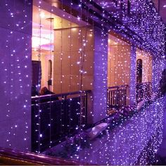 8Mx3M 800 LED Waterproof String Fairy Curtain Light Outdoor Party Wedding Xmas Decor 220V